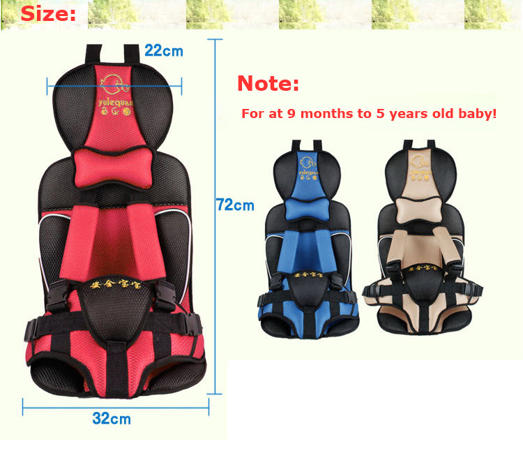 Baby Comfortable Cushion Adjustable Baby Car Seat Child Car Safety Seat For Baby Of 9 Months To 5 Years Old 30